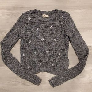 Hollister Sweater with Gems